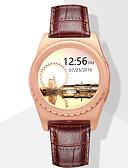 baratos Relógio Esportivo-Relógio inteligente para iOS / Android Monitor de Batimento Cardíaco / Chamadas com Mão Livre / Tela de toque / Distancia de Rastreamento / Pedômetros Monitor de Atividade / Monitor de Sono / 64MB