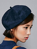 baratos Chapéus de Moda-Unisexo Vintage Algodão, Fedora Sólido