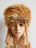 abordables Sombreros de  Moda-Mujer Piel Sintética Sombrero de Ski Un Color