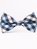 cheap Men's Ties & Bow Ties-Men's Party Work Basic Cotton Polyester Bow Tie - Solid Colored
