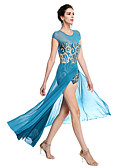 cheap Prom Dresses-Ballet Outfits Women's Performance Sequined / Lycra Sequin Sleeveless Natural / Modern Dance