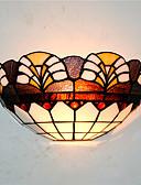 billige Kjoler til brudens mor-CXYlight Tiffany / Rustikt / hytte / Tradisjonell / Klassisk Væglamper Metal Væglys 110-120V / 220-240V 60W / E26 / E27