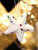 preiswerte Farbiger Chiffonschal-6pcs heiße heiße Art Weihnachtsprodukt Weihnachts Blase Kugelstern schöne Weihnachtsdekorationen notwendige Zubehör