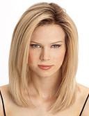 billige Sokker og strømper-Syntetiske parykker Lige Blond Syntetisk hår Varme resistent Blond Paryk Dame Lågløs / Ja