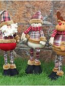 お買い得  メンズ下着&ソックス-1個 Snowmen Santa Christmas Figurines クリスマス アイデアジュェリー パーティー, ホリデーデコレーション ホリデーオーナメント