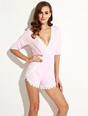 preiswerte Hosen & Röcke für Damen-Damen Jumpsuit - Spitze, Einfarbig