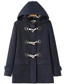 halpa Naisten takit ja trenssitakit-Naisten Perus Takki,Yhtenäinen
