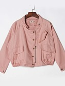 cheap Women's Outerwear-Women's Simple Jacket - Solid Colored