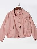 ieftine Îmbrăcăminte Damă de Exterior-Pentru femei Jachetă Simplu - Mată