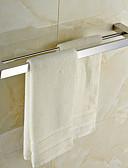 hesapli Gelin Şalları-Havlu Çubuğu Yüksek kalite Çağdaş Paslanmaz Çelik 1 parça - Otel banyo 2 kulplu çubuk