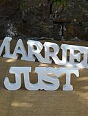 baratos Vestidos de Casamento-Material Madeira Centro de Mesas - Não-Personalizado Suportes de Cartões Outros Mesas 2 Primavera Verão Outono Inverno Todas as Estações