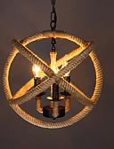 abordables Relojes Brazalete-3-luz Lámparas Colgantes Luz Ambiente - LED, Los diseñadores, 110-120V / 220-240V, Blanco Cálido, Bombilla no incluida / 0-5㎡