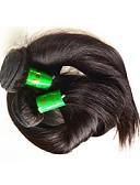 tanie Dziecięce Kapelusze i czapki-Włosy naturalne remy Kosmyki włosów ludzkich remy Prosta Włosy indyjskie 400 g Więcej niż rok