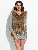baratos Camisas Femininas-Feminino Casaco de Pêlo Inverno,Sólido Sem Manga