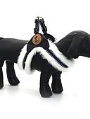 お買い得  レディースボトムス-犬 ハーネス 調整可能 / 引き込み式 反射 ソリッド PUレザー ファブリック ホワイト ブラック カーキ色