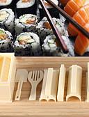 baratos Roupas Íntimas e Meias Masculinas-Utensílios de cozinha Plástico Utensílio para Sushi Para utensílios de cozinha 1conjunto