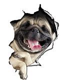 billige damesweaters-Dyr Mode Tegneserie Vægklistermærker Fly vægklistermærker Dekorative Mur Klistermærker Toilet klistermærker, Vinyl Hjem Dekoration