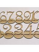 preiswerte Brautjungfernkleider-Material Holz Tabelle Zentrum Stück - Nicht-individualisiert Tischkartenhalter Anderen Tische 10 Frühling Sommer Herbst Winter Ganzjährig