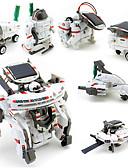 baratos Calcinhas-7 IN 1 Robô Carros de Brinquedo Brinquedos a Energia Solar Robô Alimentado a Energia Solar Recarregável Faça Você Mesmo ABS Crianças Para Meninos Brinquedos Dom