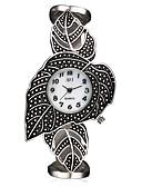 cheap Quartz Watches-ASJ Women's Wrist Watch Japanese Quartz Titanium 30 m Water Resistant / Water Proof Shock Resistant Analog Ladies Charm Luxury Leaves Vintage - White