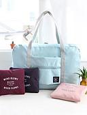 halpa Naisten mekot-Matkalaukku Miniolkalaukku Käsilaukku Matkatavaran sisälaukku Vedenkestävä Kannettava Taiteltava Suuri tilavuus Multi-function Säilytys