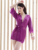 cheap Robes & Sleepwear-Women's Sexy Suits Ultra Sexy Robes Nightwear Solid Colored