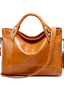 cheap Bridesmaid Dresses-Women's Bags PU Tote for Wedding / Event / Party / Sports Black / Brown / Wine