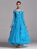 cheap Ballroom Dance Wear-Ballroom Dance Outfits Women's Spandex / Tulle Dress / Necklace