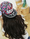 رخيصةأون قبعات نسائية-قبعة البيسبول / قبعة شمسية ألوان متناوبة نسائي قطن