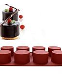 preiswerte Brautjungfernkleider-Backwerkzeuge Silikon Urlaub / Halloween / Weihnachten Kuchen / Cupcake Backform