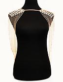 ieftine Bluză-Corp lanț / burtă lanț Boem, Natură, Modă Pentru femei Auriu Bijuterii de corp Pentru Ocazie specială / Aniversare / Casual