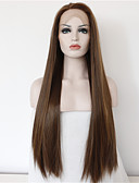 cheap Women's Skirts-good quality cheap brown wig heat resitant synthetic lace front wigs for women natural long brown lace wigs with highlights free shipping