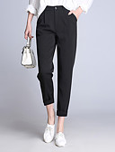 cheap Women's Blouses-Women's Classic & Timeless Pants Pants - Solid Color Modern Style / Fall
