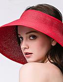 tanie Modne czapki i kapelusze-Damskie Podstawowy Kapelusz Jendolity kolor
