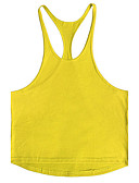 cheap Men's Swimwear-Men's Sports Beach Active Street chic Cotton Tank Top - Solid Colored