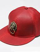 رخيصةأون قبعات نسائية-قبعة البيسبول طباعة PU للمرأة