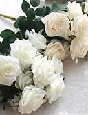 olcso Menyasszonyi fátyol-Művirágok 1 Ág Európai stílus Rózsák Asztali virág