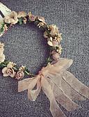 baratos Vestidos para Daminhas de Honra-Chifon Bandanas Flores Grinaldas Capacete