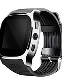 povoljno Koža-YYTLWT8 Muškarci Smart Satovi Android iOS Bluetooth 2G Sportske Heart Rate Monitor Ekran na dodir Kalorija Dugi standby Podešivač vremena Štoperica Mjerač aktivnosti Mjerač sna Pronađi moj uređaj