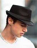 abordables Sombreros de mujer-Hombre Sombrero Playero / Sombrero Fedora - Vintage Un Color