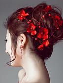 povoljno Haljine za male djeveruše-Imitacija bisera / Saten Trake za kosu / Cvijeće / Lanac glave s 1 Vjenčanje / Special Occasion / Vanjski Glava