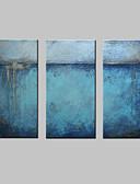 baratos Roupas Íntimas e Meias Masculinas-Pintura a Óleo Pintados à mão - Abstrato Estilo Europeu Modern Tela de pintura