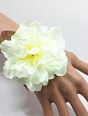 abordables Robes à Fleurs pour Filles-Fleurs de mariage Bouquets Petit bouquet de fleurs au poignet Autres Mariage Occasion spéciale Fête / Soirée De plein air Matière Satin