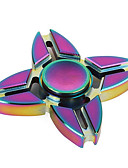 cheap Women's Belt-Hand spinne Fidget Spinner Hand Spinner High Speed for Killing Time Stress and Anxiety Relief Four Spinner Metalic Classic 1 pcs Pieces Kid's Adults' Boys' Girls' Toy Gift