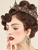 cheap Evening Dresses-Rhinestone / Alloy Tiaras / Headwear / Hair Pin with Floral 1pc Wedding / Special Occasion / Outdoor Headpiece