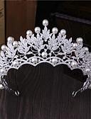 preiswerte Hochzeitskleider-Künstliche Perle / Strass / Aleación Tiaras / Haarnadel mit 1 Hochzeit / Besondere Anlässe / Draussen Kopfschmuck
