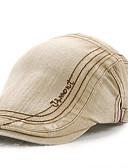 baratos Chapéus de Moda-Homens Activo Algodão, Boina Sólido