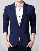 זול בלייזרים וחליפות לגברים-אחיד רזה עסקים עסקים פורמלי מידות גדולות בלייזר-בגדי ריקוד גברים