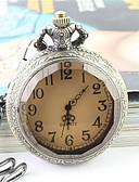 זול 2017ביקיני ובגדי ים-בגדי ריקוד גברים שעון כיס / שעון יד שעונים יום יומיים סגסוגת להקה אופנתי / אלגנטית כסף