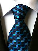 זול חולצות פולו לגברים-עניבת צווארון - פסים עבודה / יום יומי / פסים בגדי ריקוד גברים